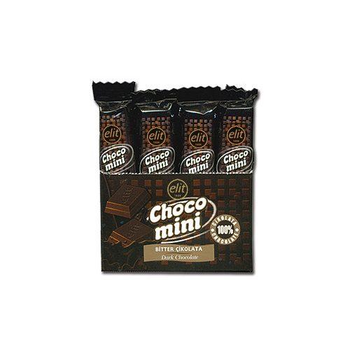 Elit choco mini Dark 15g   62%         (20db/kínáló)