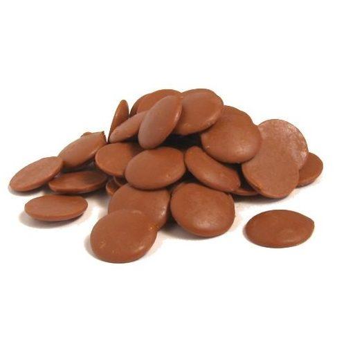 Elit tejcsokoládé pasztilla 33%-os   1kg
