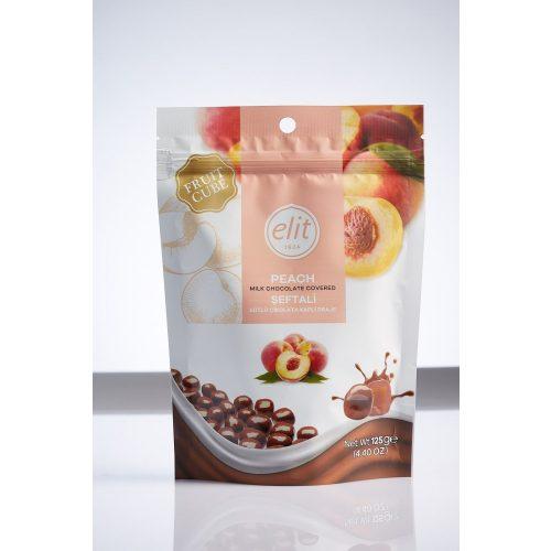 Elit Fruit Cube tejcsokoládéval bevont barack zselé drazsé 125g