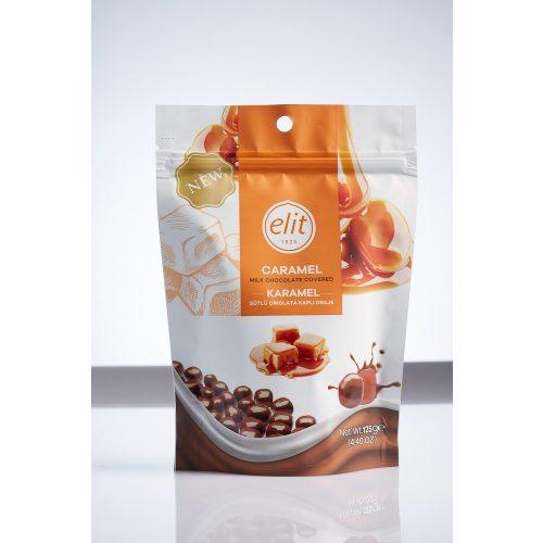 Elit Caramel cube tejcsokoládéval bevont karamella kockák 125g