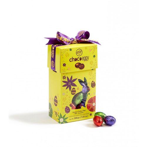Elit Choco eggy mogyorókrémmel töltött tejcsokoládé tojások 200g EXTRA AKCIÓ!
