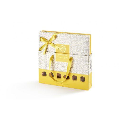 Elit Csokoládé Praliné válogatás Yellow ÚJ 365g