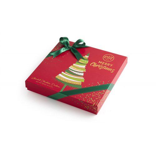 Elit Merry Christmas tej és fehércsokoládés pralinék 267g