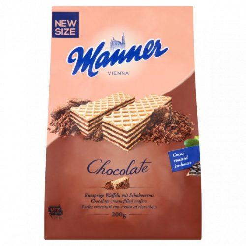 Manner csokoládékrémes nápolyi 200 g