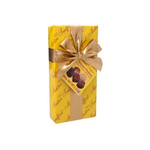 Maitre Belgian Praliné - sárga 100g