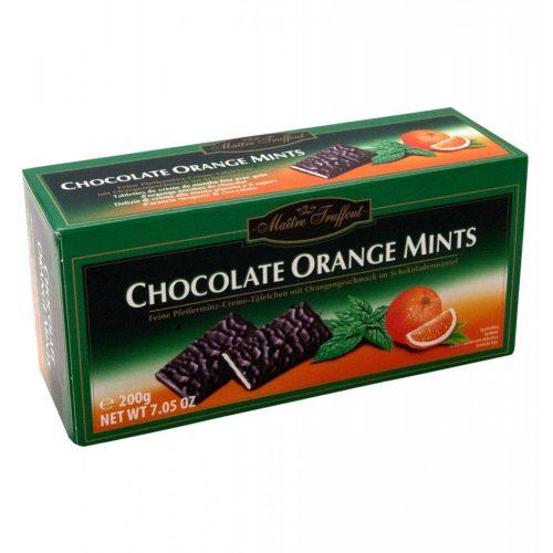Maitre T - mentolos és narancsos 200g