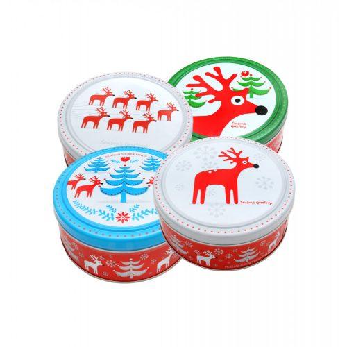 Only Seasons Greeting karácsonyi vajas fémdobozos keksz 454g