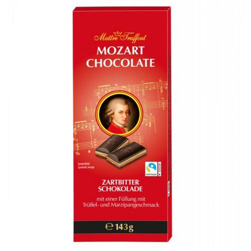 Mozart marcipánnal töltött táblás étcsokoládé 143g