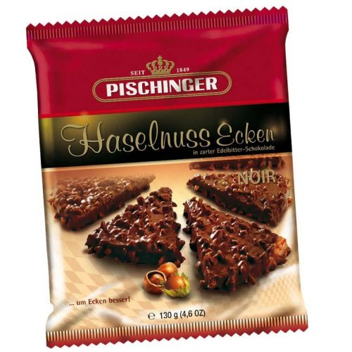 Pischinger mogyorós háromszög ostya -étcsokoládé 130g