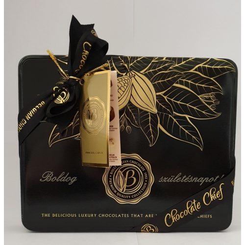 Bolci Black and gold Gravírozott Boldog Születésnapot 250g
