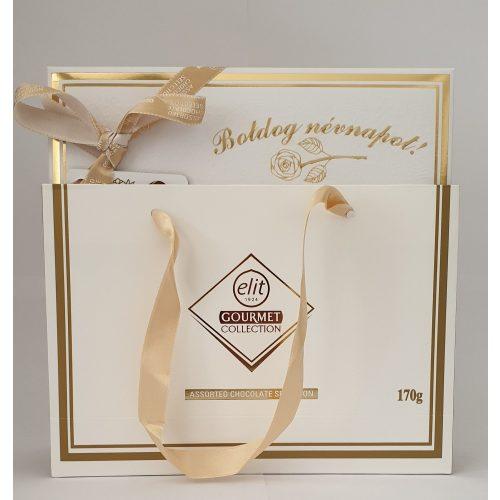 Elit Gourmet Collection 170g Boldog Névnapot Gravír