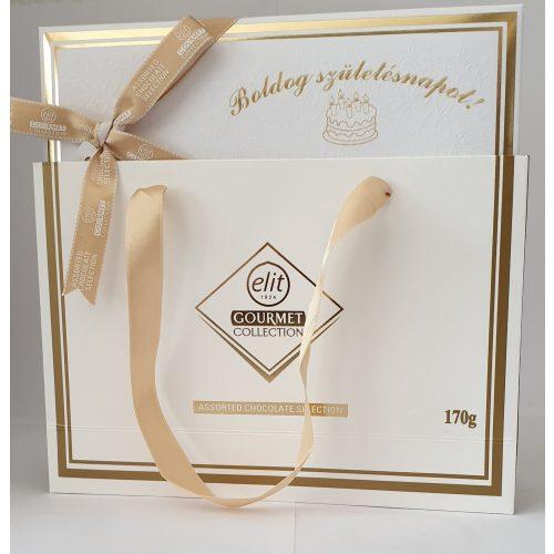Elit Gourmet Collection 170g Boldog Születésnapot Gravír